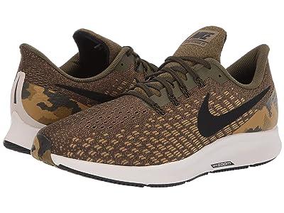 Nike Air Zoom Pegasus 35 GPX (Olive Canvas/Black/Light Orewood Brown) Men