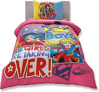 dc superhero girls duvet