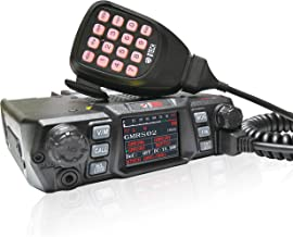BTECH Mobile GMRS-50X1 50 Watt GMRS Two-Way Radio, GMRS Repeater Capable, with Dual Band Scanning Receiver (136-174.99MHz (VHF) 400-520.99MHz (UHF))