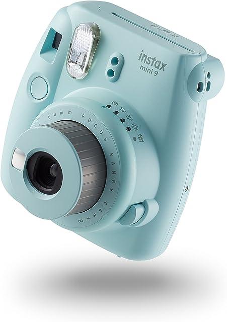 Fujifilm Instax Mini 9 - Cámara instantánea Cámara con  10 películas Azul