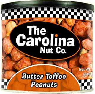 The Carolina Nut Company Peanuts, Butter Toffee, 12 Oz