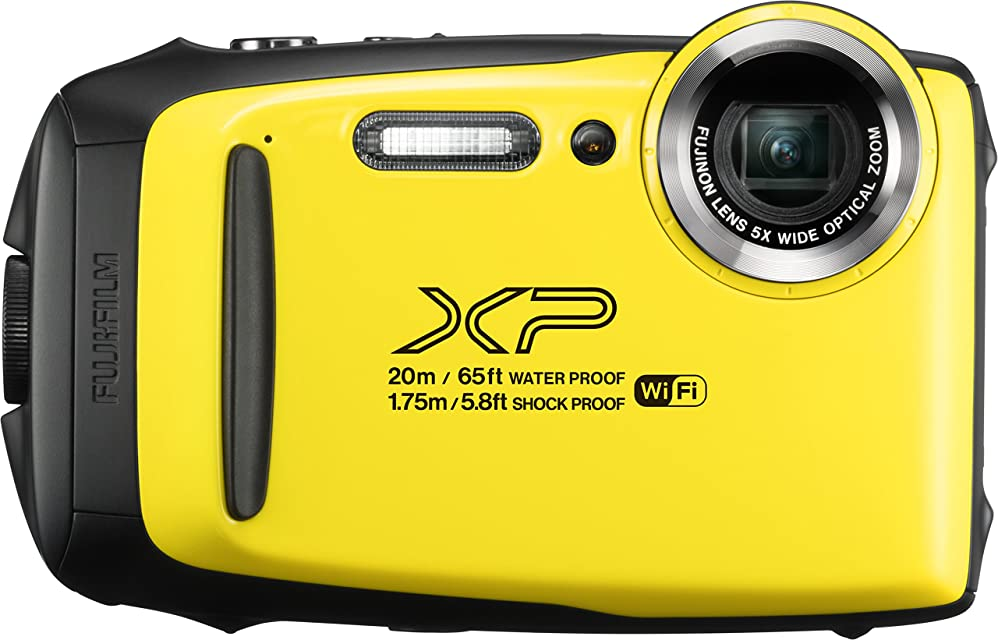 Fujifilm 16573401 - Cámara acuática de 3 (Wi-Fi estabilizador óptico video Full HD Bluetooth 16.4 MP) color amarillo