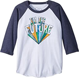 Chaser Kids - Vintage Jersey I'm The Future Baseball Tee (Little Kids/Big Kids)