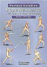 [Allpose Book] 15_Sword Guy poses(a) (for comic,cartoon,manga,anime,illustration human body pose drawing techniques.) (Allpose Book Drawing Pose Resource : 24 Books Series)