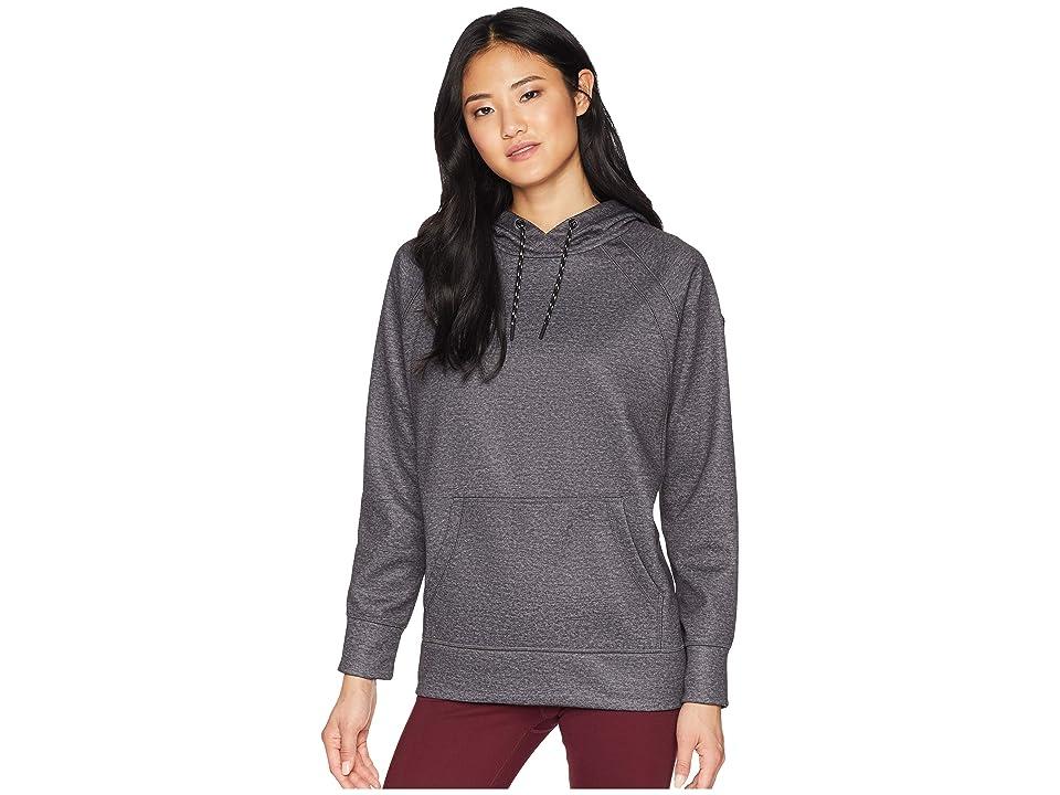 Burton Women's Crown Bonded Pullover (True Black Heather 1) Women's Sweatshirt