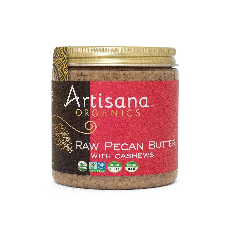 Artisana Organics Raw Pecan Butter with Popular overseas shipfree No Sugar Cashews - Added