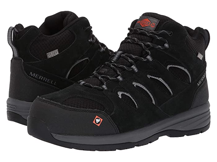 9862357a4af Merrell Work Windoc Mid Waterproof Steel Toe at Zappos.com
