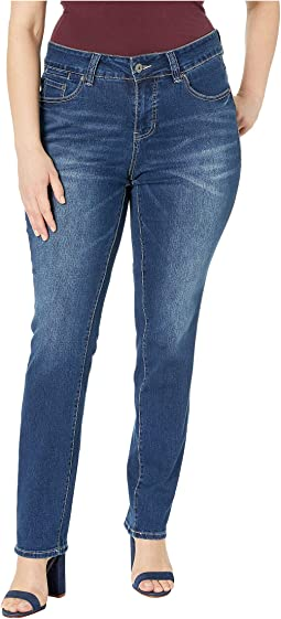 Plus Size Hanna Straight Jeans