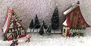 Dept. 56 Start A Tradition Set Village North Pole Series Retired Handpainted Porcelain