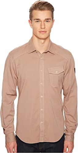 BELSTAFF - Steadway Garment Dyed Twill Shirt