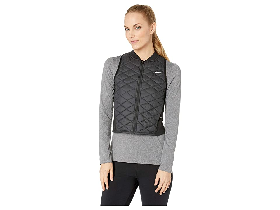 Nike Aerolayer Vest (Black/Atmosphere Grey) Women