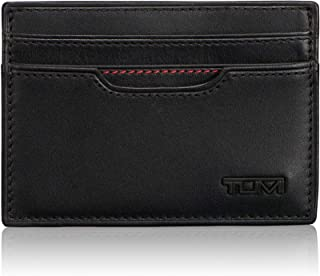 TUMI - Delta Money Clip Card Case Wallet with RFID ID Lock for Men - Black