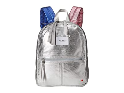 STATE Bags Kids Mini Kane (Silver/Multi) Backpack Bags