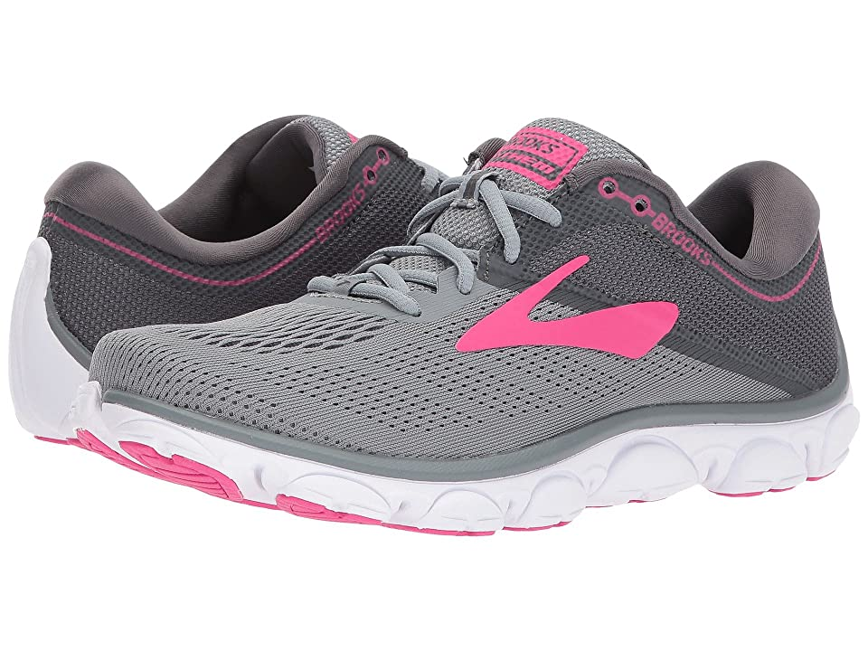 Brooks Anthem (Grey/Ebony/Pink) Women