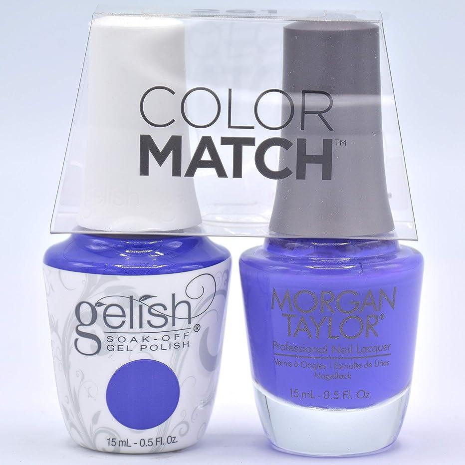 GELISH Gel Polish and Morgan Taylor Nail Polish Duo 50179 Anime-ZING Color!