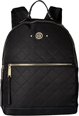 Tommy Hilfiger - Gifting Quilted Stars Nylon Large Dome Backpack