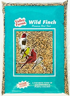 Valley Farms Wild Finch Mix Wild Bird Food -Super Clean Seed for Outdoor Finch Feeder (4)