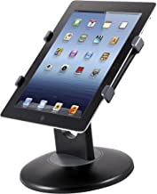 Kantek Tablet Stand for Apple iPad, iPad Air, iPad Pro (All 9.7-Inch, 10.5-Inch, and 11-Inch Sizes), iPad Mini (1, 2, and 3), Kindle Fire 7-Inch (Kindle Fire, HDX7, HD 7), Samsung Galaxy Tab (S, S2, S3), and Galaxy Pro S (TS710)
