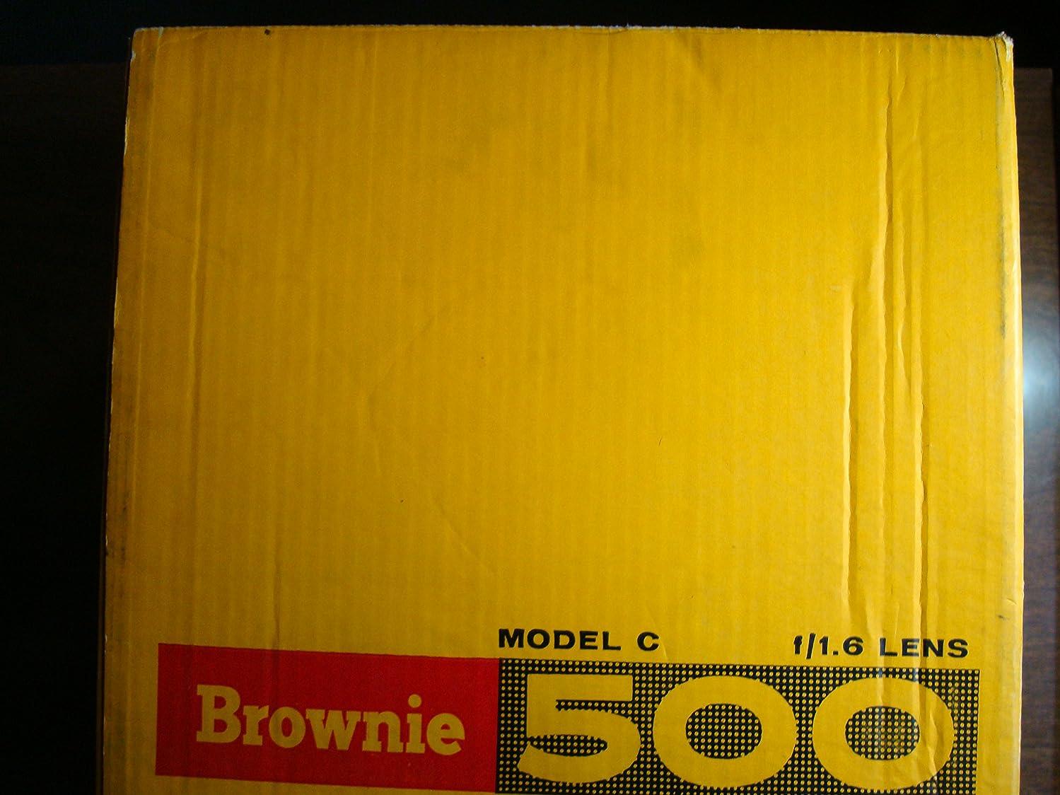 Kodak Brownie 500 Compact Portable 8mm Film Movie Projector