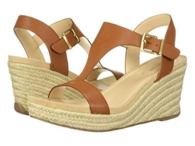 Kenneth Cole Reaction Card Wedge (Tan Smooth) Women