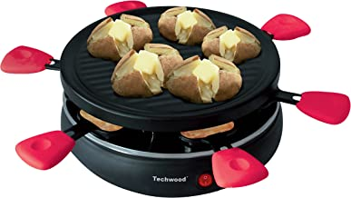 Techwood TRA-65 Raclette Grill 6 Personnes