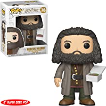 "Funko- Figurines Pop Vinyl: Harry Potter S5: 6"" Hagrid w/Cake Collectible Figure, 35508, Multcolour"