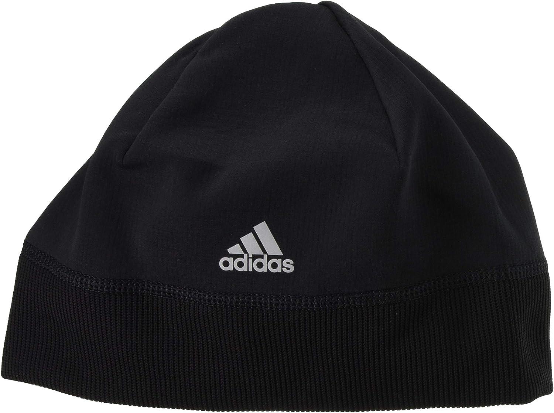 adidas Unisex's Beanie A.R. W 卓越 Silver 手数料無料 Reflective Black Hat