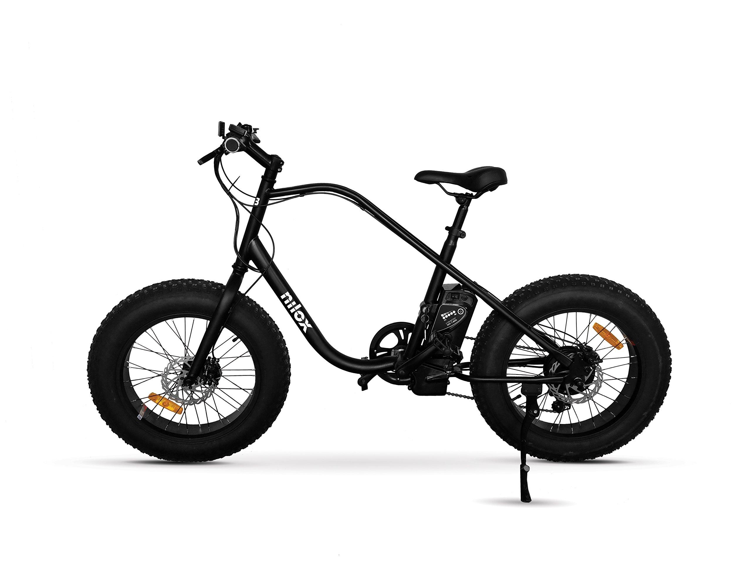 Nilox 30NXEB203V003 Bicicleta eléctrica, Unisex Adulto, Negro ...