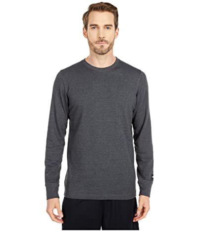The North Face Long Sleeve TNF Terry Crew (TNF Dark Grey Heather) Men