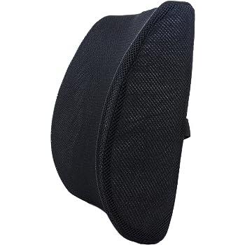 Milliard Cuscino Lombare Supporto, Ortopedico Memory Foam Cuscino Posteriore - Ergonomico Supporto per Auto, Ufficio Divano, Sedia, e Aereo