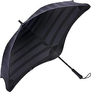[ムーンバット] BLUNT ブラント 正規品 クラシック CLASSIC 紳士長 耐風傘 ユニセックス UV 晴雨兼用 日傘 手開き 親骨65cm 丈夫 オシャレ ボーダー