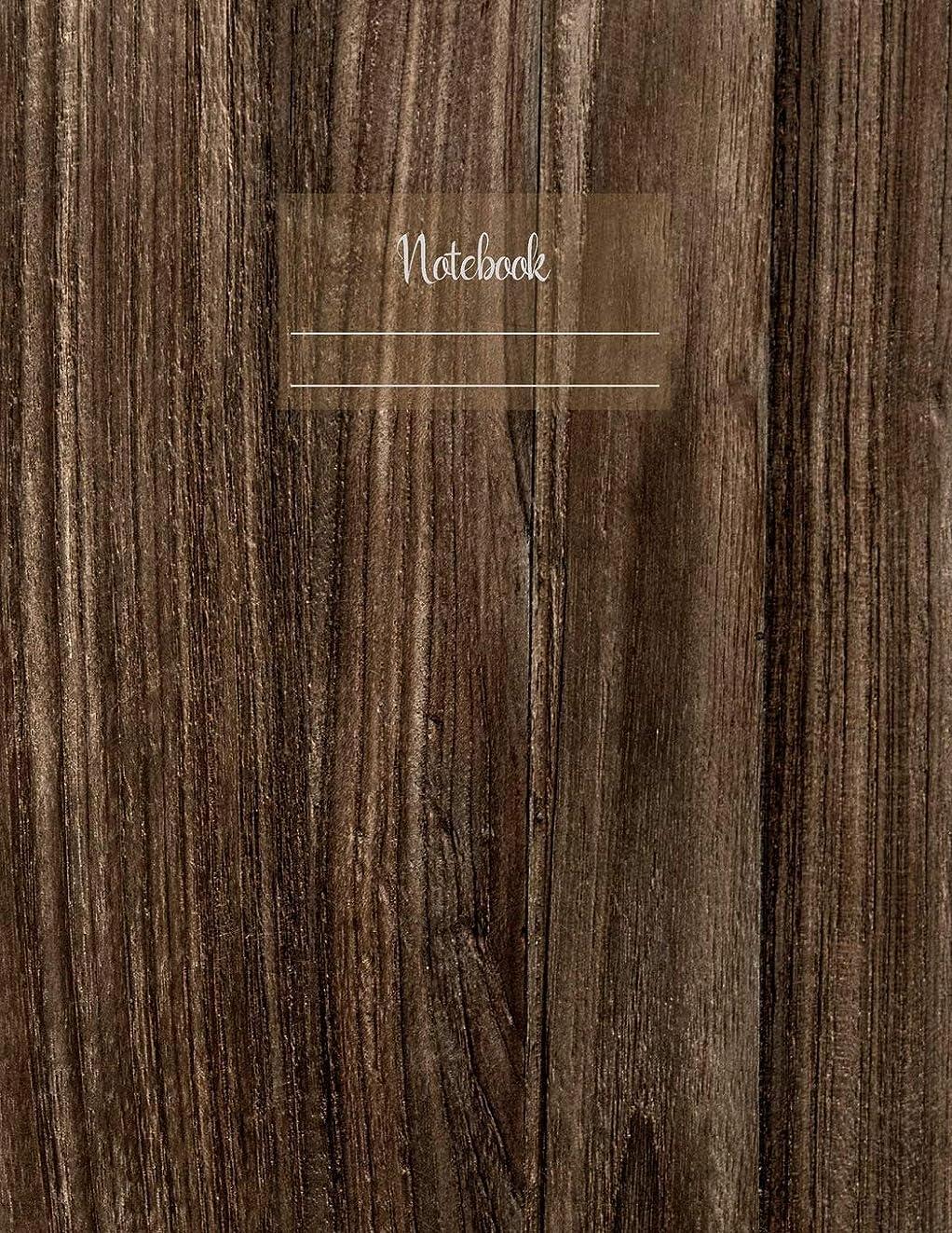 泣いている数スライムNotebook: Large notebook with 120 Lined pages. Wide ruled. Ideal for School notes, Journaling, Hand lettering, Calligraphy practice. Perfect gift. 8.5' x 11.0' (Large). (Wooden pattern cover).