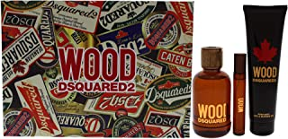 Dsquared2 Wood For Men 3 Pc Gift Set