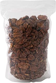 Gourmet Cinnamon Roasted Pecans 24 oz (1.50 lb) Bag: Addictive Snack/Treat to Satisfy Your Sweet Tooth | Artisan Hand-Roas...