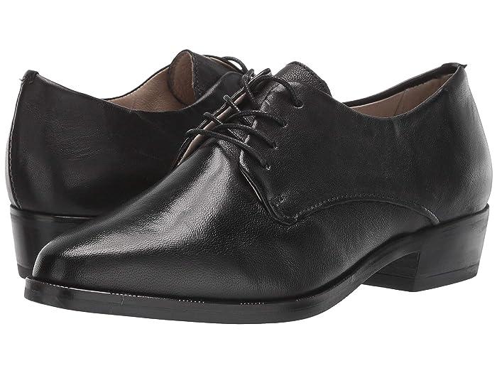 1920s Style Shoes Miz Mooz Dario Black Womens  Boots $134.96 AT vintagedancer.com