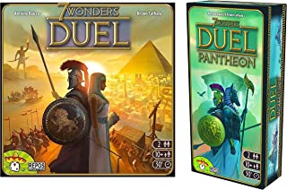 Asmodee, 7 Wonders: Duel - Pantheon Expansion with 7 Wonders: Duel