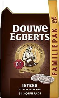 Douwe Egberts Koffiepads Intens, Familiepak, (216 Pads, Geschikt voor SENSEO Koffiepadmachines, Intensiteit 07/09, Dark Ro...