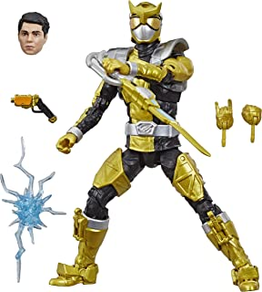 Power Rangers Lightning Collection 6-Inch Beast Morphers Gold Ranger Collectible Action Figure Toy with Accessories