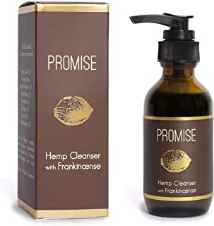 Promise Organic Hemp Facial Cleanser -100 ml- Made in New Zealand