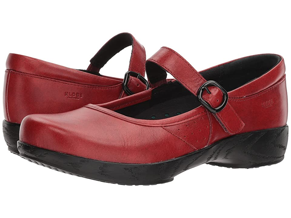 Klogs Footwear Charleston (Ruby Tintoretto) Women
