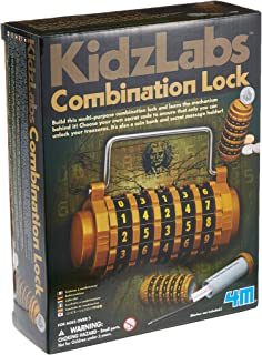 4M Kidz Labs Combination Lock Creative Toy