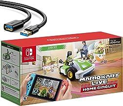 $199 » Nintendo 2020 Newest - Mario Kart Live: Home Circuit - Luigi Set Edition - Holiday Family Gaming Bundle for Nintendo Switc...