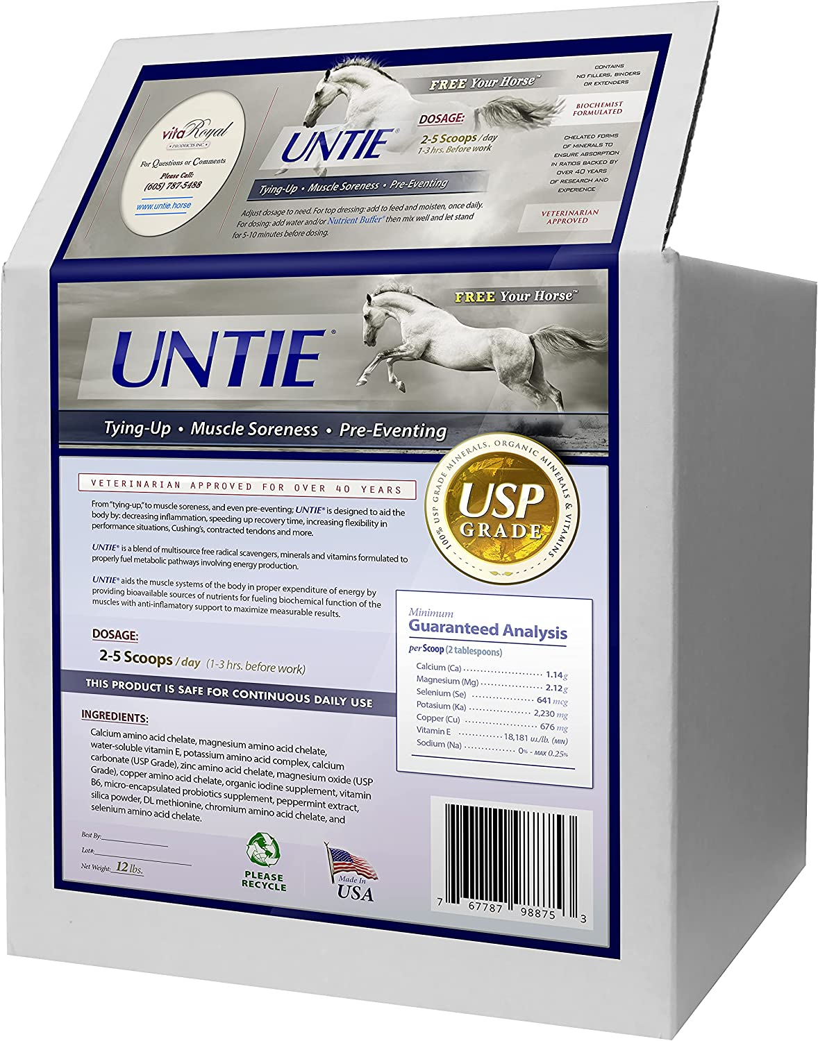 UNTIE Our shop most popular for Horses - Inflammatory Support Muscle Joint and Super sale