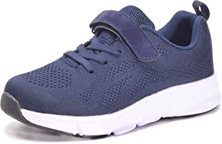 Eagsouni Boys Girls Toddler Fashion Sneaker Kids Breathable Lightweight Knit Athletic Running Sport Shoes