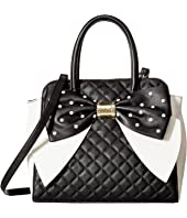 Betsey Johnson - Oversized Bow Satchel