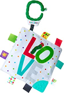 World of Eric Carle Double Sided Teether Taggy Blanket for Babies