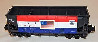 Showcase Line S Helper 01868 C&I 55 ton USRA Offset Hopper 1776 Cambria Indiana bicentennial