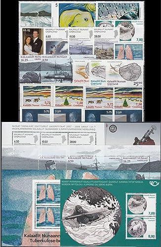 Goldhahn Grünland 2008 postfrisch  Nr. 502-524 Block 40-43 Briefmarken für Sammler