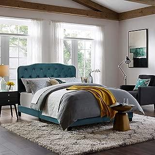french velvet bed