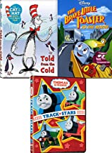 Cold Bears Penguins Toasters 4 Cartoon Movie Disney Brave little Toaster to the Rescue / Cat in the Hat Told from the Cold Seuss + Thomas Train Friends Track Stars Animated Adventures cartoon Features